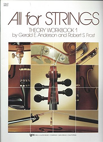 (84CO - All For Strings Theory Workbook - Book 1 -)