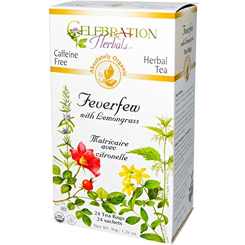 Celebration Herbals Feverfew Lemongrass Organic