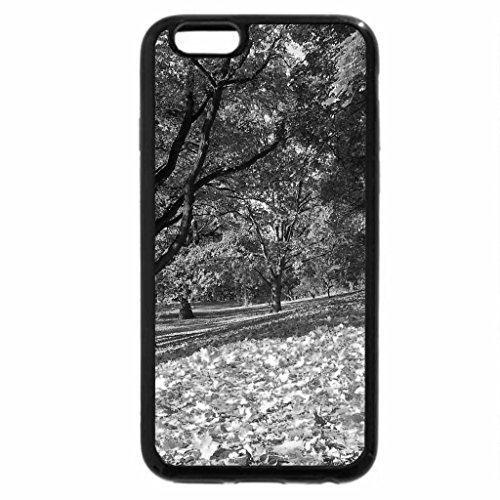 iPhone 6S Plus Case, iPhone 6 Plus Case (Black & White) - autumn relax