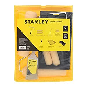 STANLEY Home Paint Kit - 9 Piece