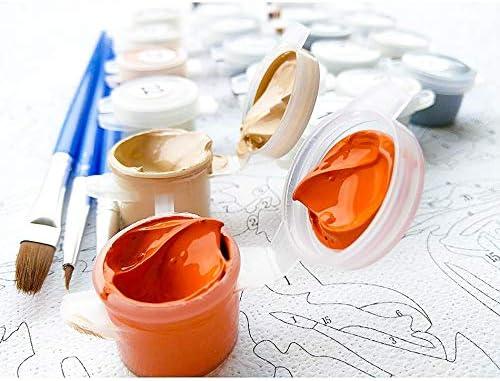 AOlsyh Naruto Peinture num/érique Adulte DIY num/érique Adulte pour Enfants Cadeau de Couple Romantique 40x50cm sans Cadre