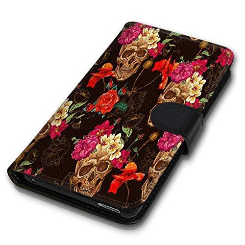 Wallet Book Style Flip Handy Tasche Case Schutz Hülle Schale Motiv Etui für Apple iPhone 5 / 5S - Design Flip MVD351