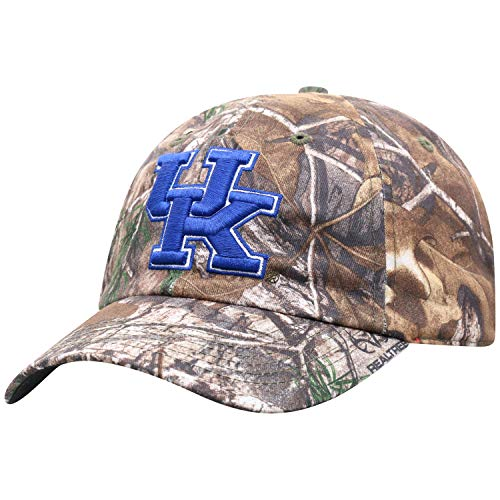 Top of the World Kentucky Wildcats Men's Camo Hat Icon, Real Tree Camo, Adjustable ()