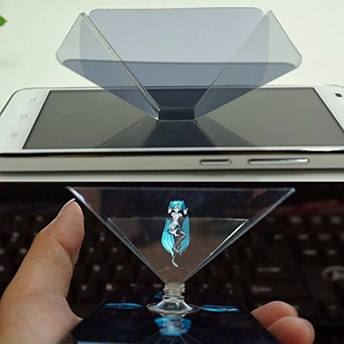 Apple Accessories - Hologram Smart Phone Projector Smartphone - Holographic Display Stand 3d Projector For 6/6s Pl 6/6s Smartphone - 3d Hologram Pyramid Display For Smartphones - - Relevant Eyewear