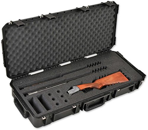SKB Injection-Molded Custom Breakdown Shotgun Case, Black
