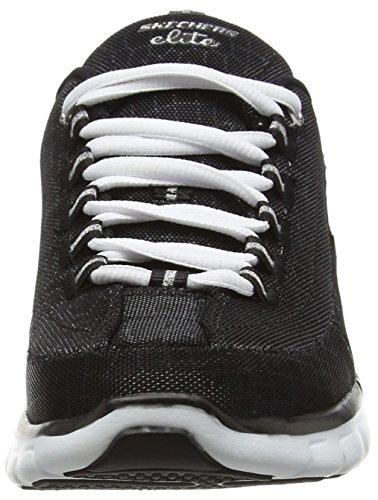 Skechers Sport Donna Elite Sinergia Moda Sneaker Nero / Bianco