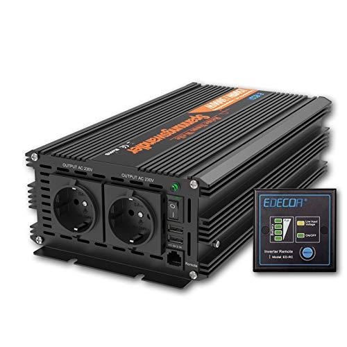 Inversor 24v 220v onda pura transformador 1500w y pico 3000w ...