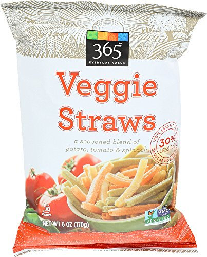 (365 Everyday Value, Veggie Straws, 6 oz)