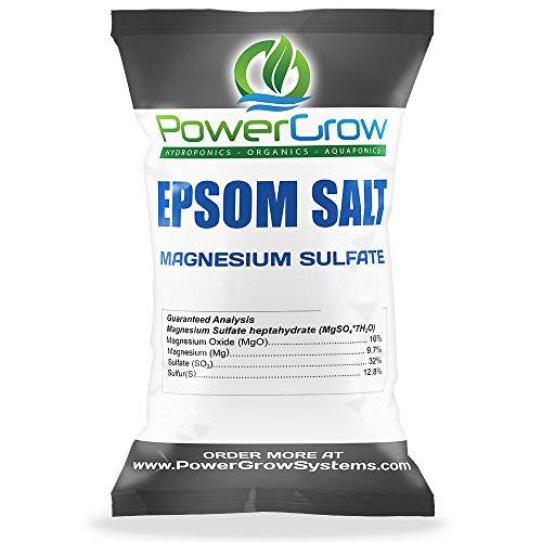 EPSOM SALT (Magnesium Sulfate) Agricultural Grade BULK (5 Pounds)