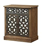 Coast to Coast Imports Two Door Wooden Cabinet