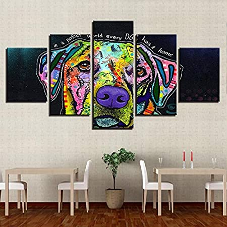 RMRM Wall Art Pictures Modular Canvas HD Impreso Poster 5 ...