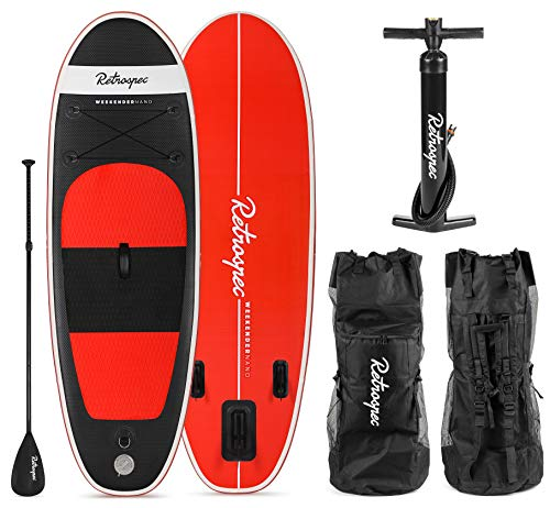 Retrospec Weekender-Nano 8' Inflatable Stand Up Paddleboard for sale  Delivered anywhere in Canada