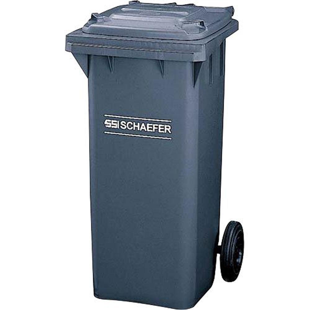 山崎産業 ゴミ箱 ウェイストペール GMT-120 グレー 約120L YW-106L-PC B000YGBRLG グレー グレー