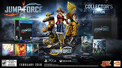 51k%2B9PiAbyL - Jump Force - PlayStation 4 Collector's Edition