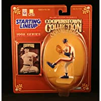 1 X TOM SEAVER /NEW YORK METS Figura de acción de la línea inicial y colección exclusiva de MLB Cooperstown Collection