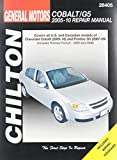 Chilton Total Car Care GM: Chevrolet Cobalt, 2005-10 & Pontiac G5, 2007-09 & Pursuit 2005-2006 Repair Manual (Chilton's Total Car Care Repair Manual)