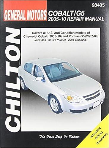 pontiac g5 owners manual