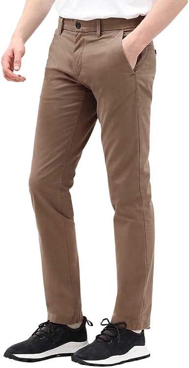 Examinar detenidamente esqueleto límite  Timberland STR Twill SF Chino Pantalon pour Homme Marron TB0A1NWV244:  Amazon.fr: Vêtements et accessoires