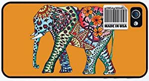 Elegant Elephant iPhone Case designed by TMC Cases (iPhone 4 4s Black Case)