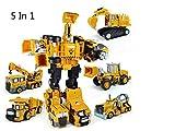 5 trucks Metal Truck Hercules Combination Truck Transformers Toys by GokuStore