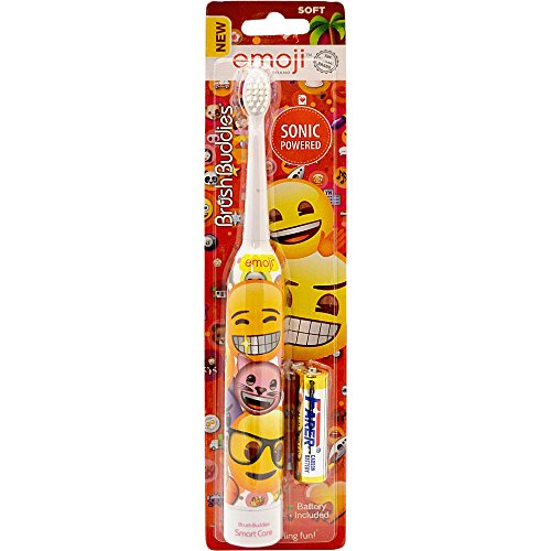 Brush Buddies Emoji Sonic Powered Toothbrush