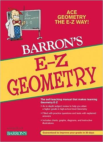 Amazon.com: E-Z Geometry (9780764139185): Lawrence S. Leff: Books