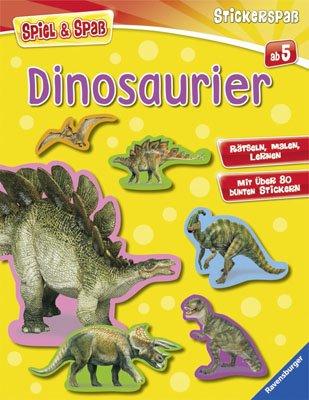 Dinosaurier (Spiel & Spaß - Stickerspaß)