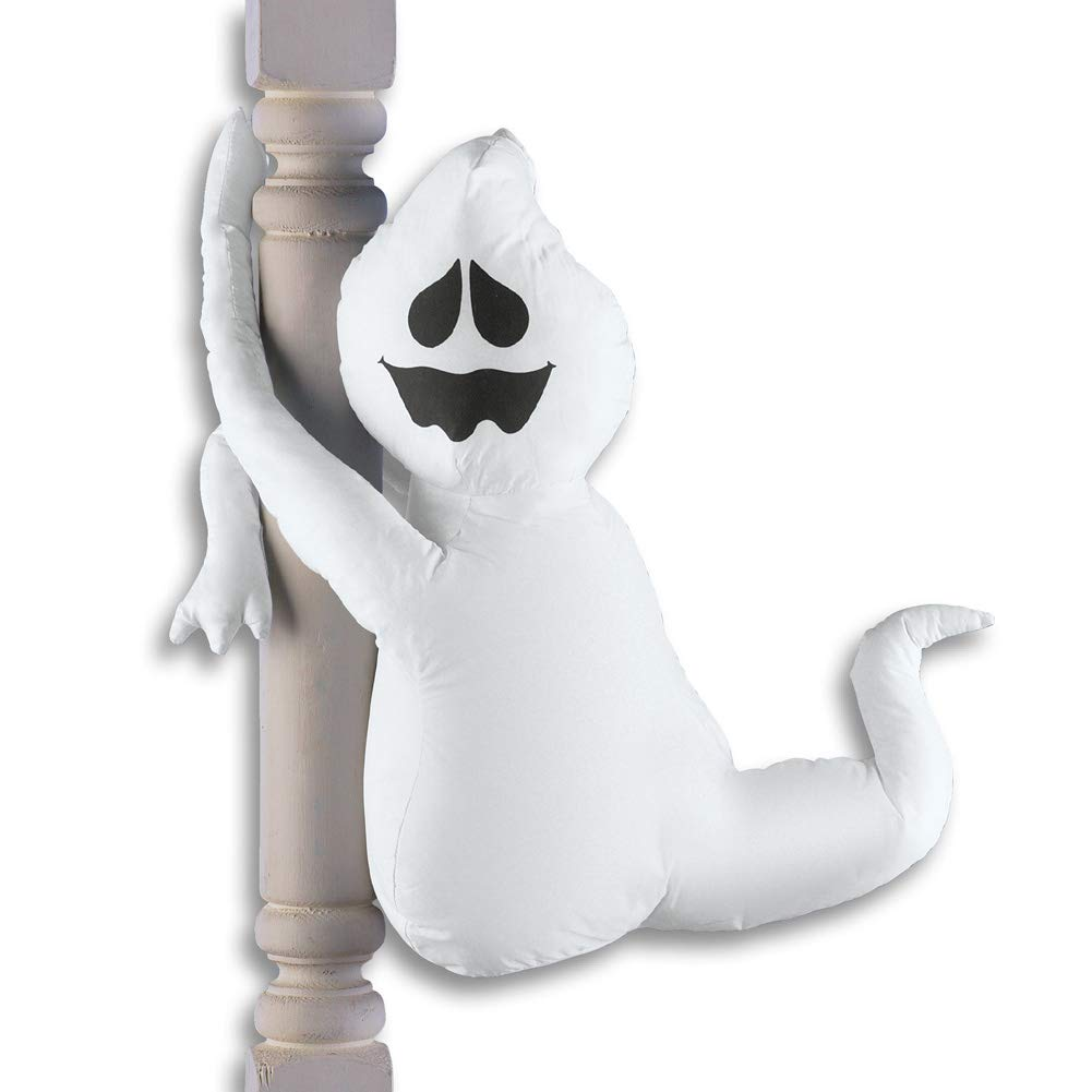 Cute Poseable Halloween Porch Decorations, Ghost by Collections Etc (Image #1)