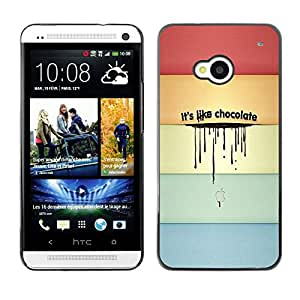 - Funny Kidding - - Fashion Dream Catcher Design Hard Plastic Protective Case Cover FOR HTC One M7 Retro Candy
