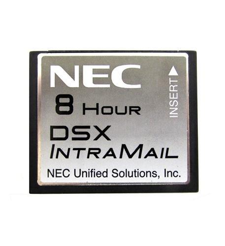 NEC 1091060 DSX IntraMail 2-Port/8-Hour Voice Mail, 128 Mailboxes
