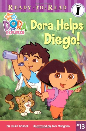 Dora Helps Diego! (Ready-To-Read Dora the Explorer - Level 1) (Dora the Explorer Ready-to-Read) by Nickelodeon