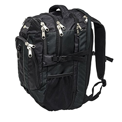 NorthStar Portal Engineer Backpack 28L Capacity Dual Cushioned Laptop & Tablet Compartments by NorthStar