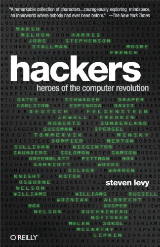 Picture of a Hackers Heroes of the Computer