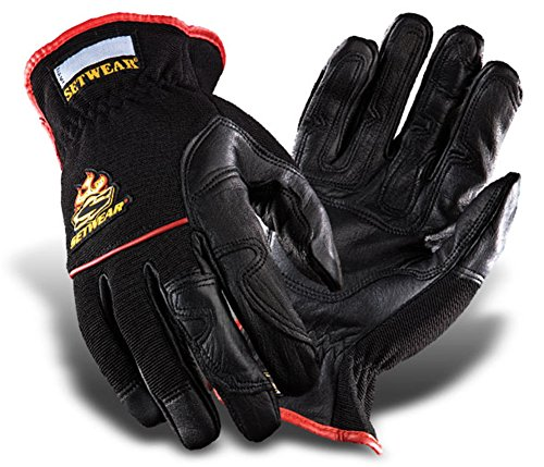- SetWear Hot Hand, Heat Resistant Leather Gloves, Pair X-Large (Size 11) Approximatly 4.5