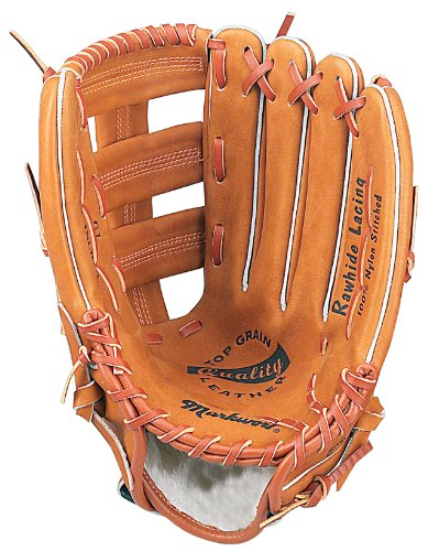 Markwort 13-Inch Triple Wide T-Web Ball Glove with Wrist Strap by Markwort
