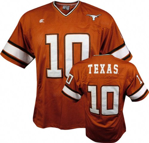 finest selection 53e29 bebf3 Amazon.com : Vince Young #10 Texas Longhorns All Time Orange ...