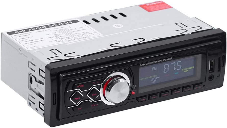 Leoie 12V Universal Car Stereo MP3 Music Player FM Radio AUX TF Card