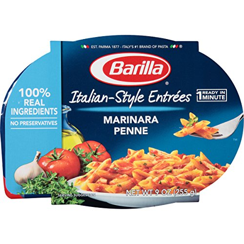(Barilla Italian-Style Entrees, Marinara Penne, 9 Ounce (Pack of)