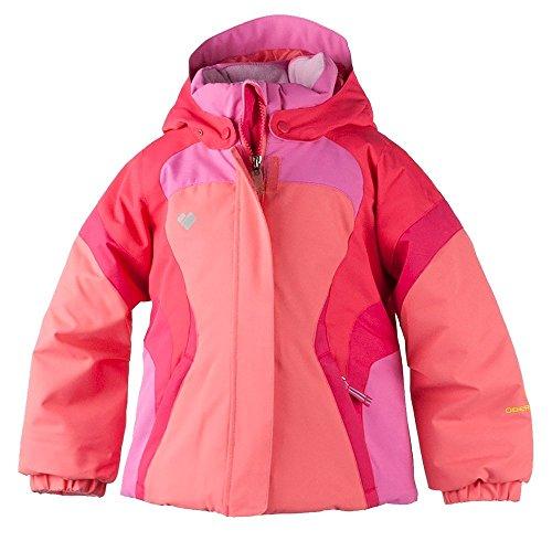 Obermeyer Kids Baby Girl's Alta Jacket (Toddler/Little Kids/Big Kids) Soft Coral 5 by Obermeyer Kids