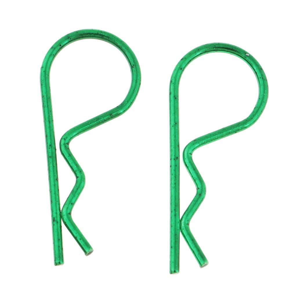 20pcs Homyl 1//5 1//8 1//10 1//12 Clips Pin de Carrocer/ías para Redcat HPI HSP Traxxas