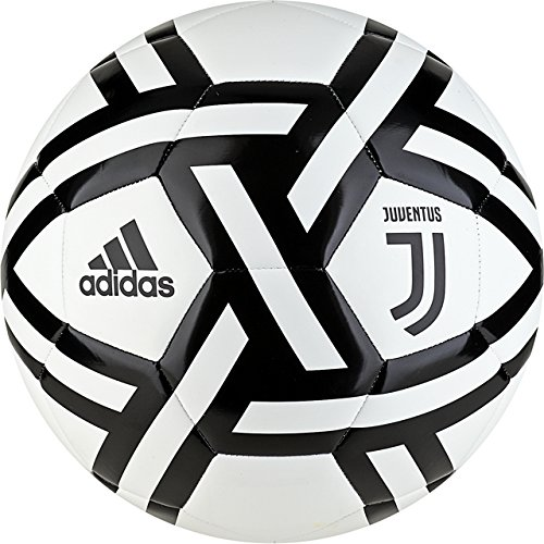 adidas Italian Serie A Juventus Soccer Ball, White, 3