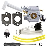Anzac 308054079 Carburetor 308054079 with primer bulb fuel line for Ryobi RY08420 RY08420A Backpack Blower