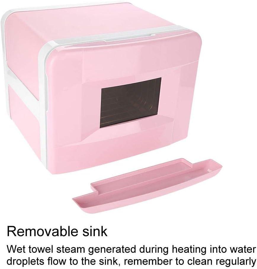 Hurrise Chauffe-serviettes St/érilisateur professionnel pour spa rose