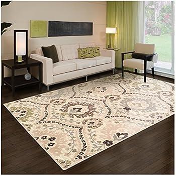 amazon com garland rug carnival area rug 3 feet by 5 feet random rh amazon com