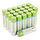 LUMSING AA 2850mAh High Capacity Rechargeable Batteries 16 Pack with Battery Storage Case