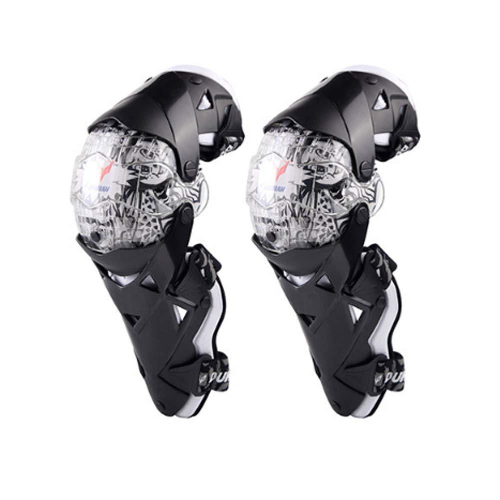 DAYIMIYA Knieprotektoren Lange Schienbeinschutz f/ür Motocross Motorrad Fahrrad Skateboard-Fahrrad das taktischen Sport l/äuft 2 ST/ÜCKE,White