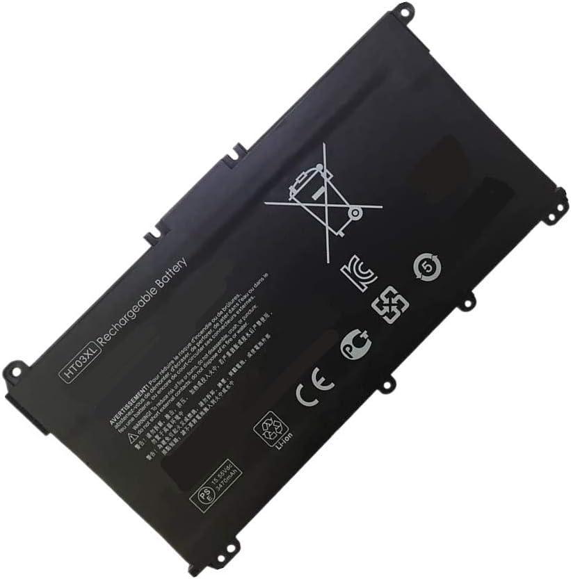 Bater/ía de repuesto compatible con HT03XL HP Pavilion 15-CS0038TX HP Pavilion 15-CS0039TX HP Pavilion 15-CS0040TX HP Pavilion 15-DA Series HP 250 G7 Series HP 255 G7 Series WXKJSHOP