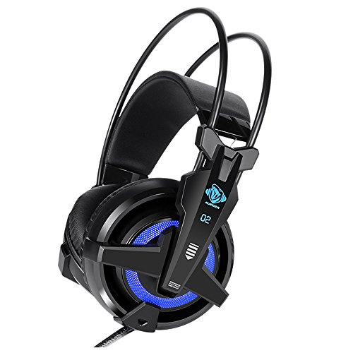 E-Blue - Auroza FPS 7.1 Surround Sound + 4D Vibration Gaming Headset