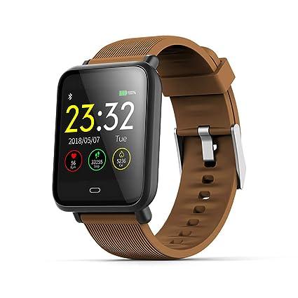 Amazon.com: Zhinengbiao Blood Pressure Heart Rate Monitor ...