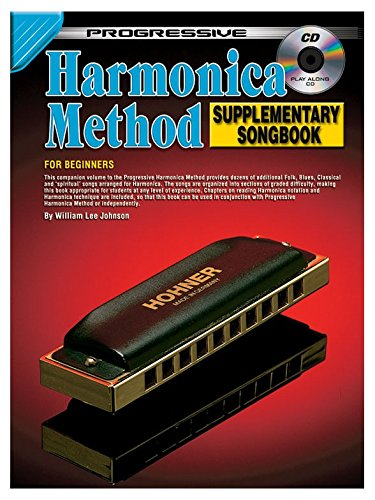 Progressive Harmonica (Progressive: Harmonica Method - Songbook (Book/CD) - Partitions, CD)